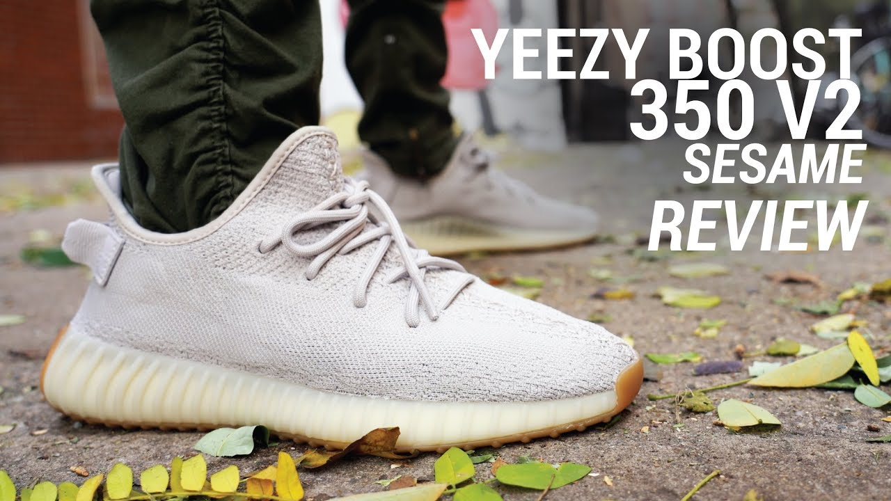 quality design 5020f 17bfd Adidas Yeezy Boost 350 V2 Sesame Review & On Feet